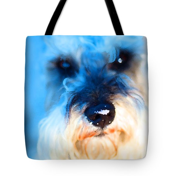 Dog 2 . Photo Artwork Tote Bag by Wingsdomain Art and Photography