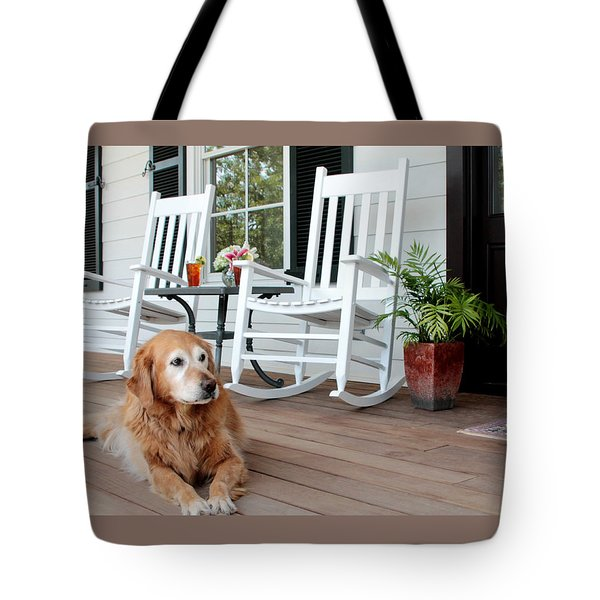 Dog days of summer Tote Bag by Toni Hopper