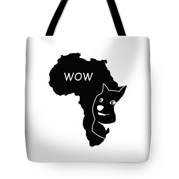 Dogecoin In Africa Tote Bag by Michael Jordan