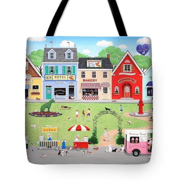 Doggie Heaven Tote Bag by Wilfrido Limvalencia