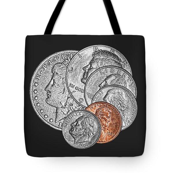 Dollar Ninety One Tote Bag by Tom Mc Nemar