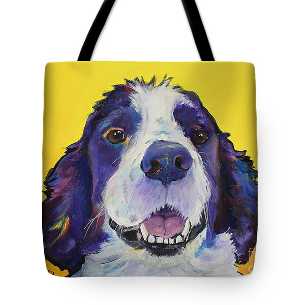 Dolly Tote Bag by Pat Saunders-White