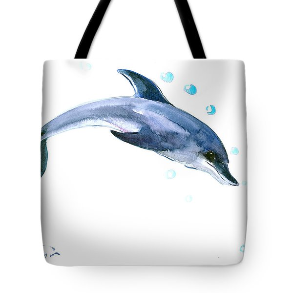 Dolphin Tote Bag by Suren Nersisyan