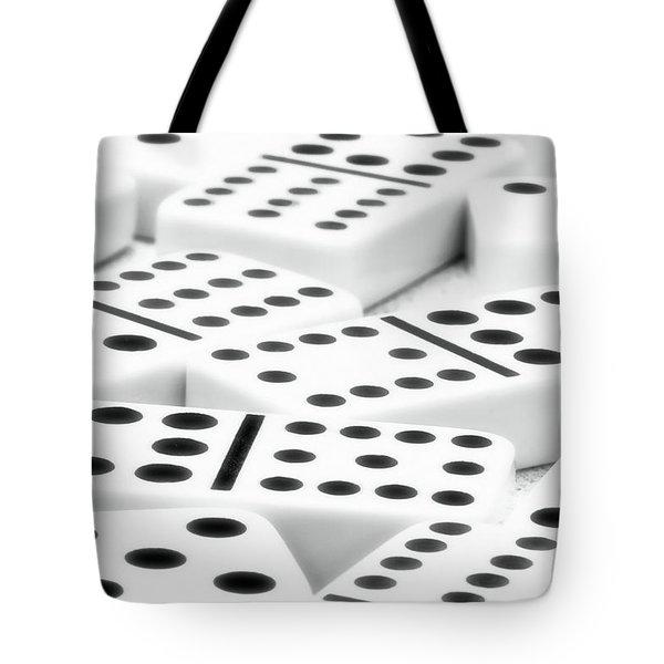 Dominoes II Tote Bag by Tom Mc Nemar