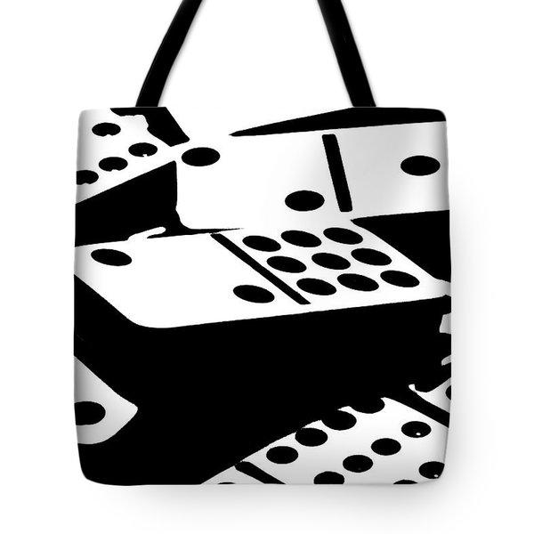 Dominoes III Tote Bag by Tom Mc Nemar