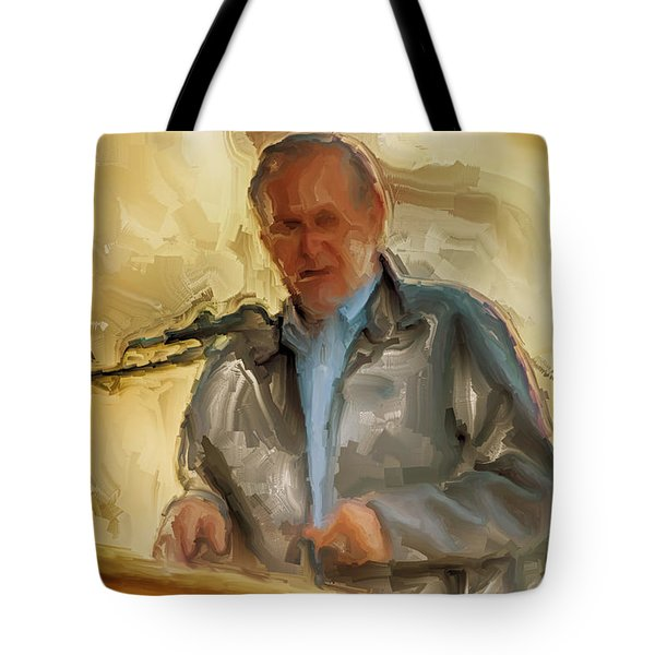 Donald Rumsfeld Tote Bag by Brian Reaves