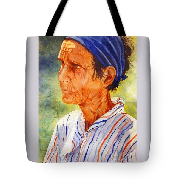 Donna Maria Tote Bag by Estela Robles