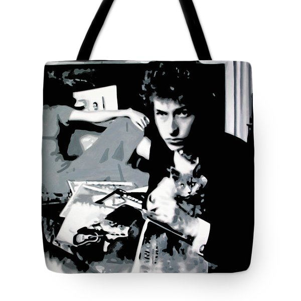 Dont Look Back Tote Bag by Luis Ludzska