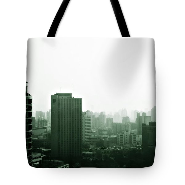 Doomsday Shanghai Tote Bag by Christine Till