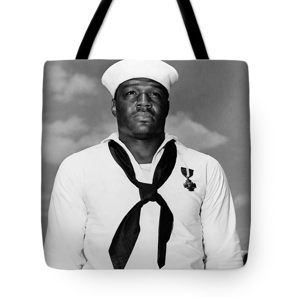 Dorie Miller Tote Bag by War Is Hell Store