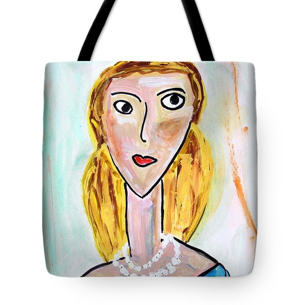 Double Strand Tote Bag by Mary Carol Williams