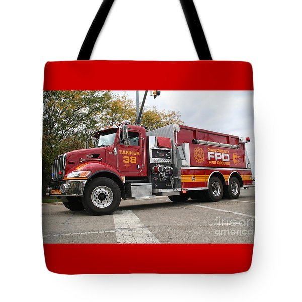 Downs Tanker 38 Tote Bag by Roger Look