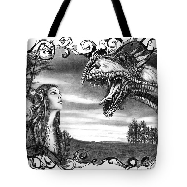 Dragon Whisperer  Tote Bag by Peter Piatt