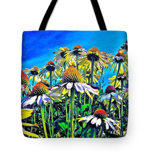 Dream Field Tote Bag by Gwyn Newcombe