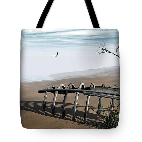 Dream Lake Tote Bag by Richard Rizzo