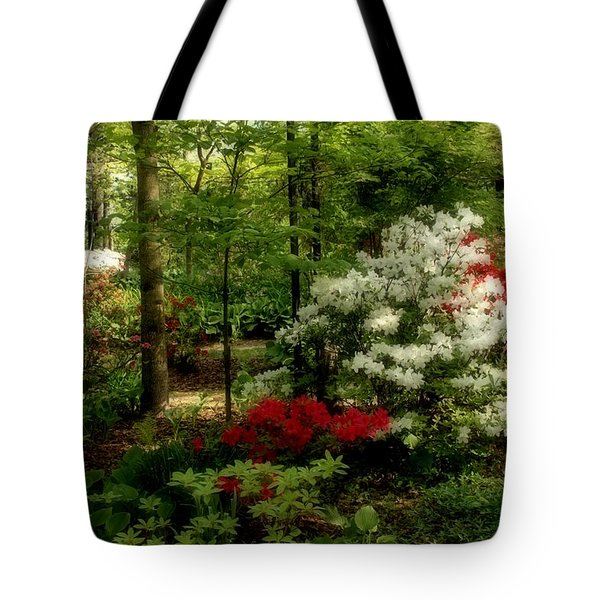 Dreaming Of Spring Tote Bag by Sandy Keeton