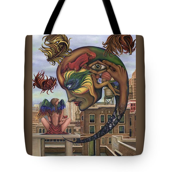 Dreams Lost The Molting Tote Bag by Karen Musick