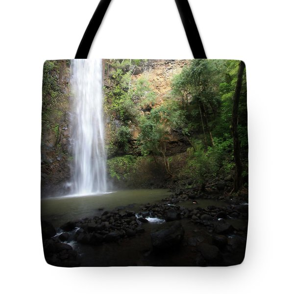 Dreamy Waterfall Tote Bag by Mary Haber