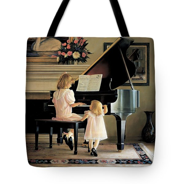 Dress Rehearsal Tote Bag by Greg Olsen