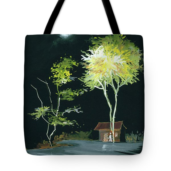 Drive Inn Tote Bag by Anil Nene