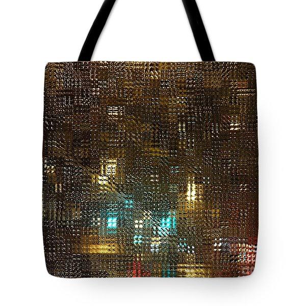 Driving Rain Tote Bag by Sarah Loft