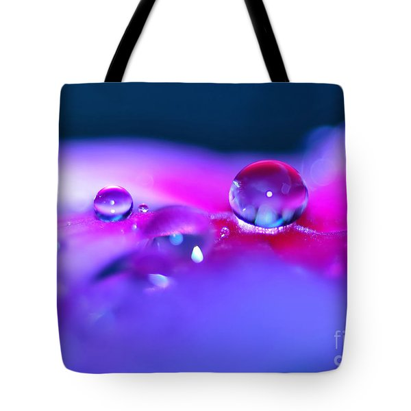 Droplets In Fantasyland Tote Bag by Kaye Menner