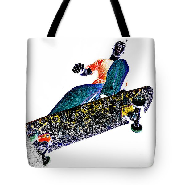 Dropping In Tote Bag by Meirion Matthias