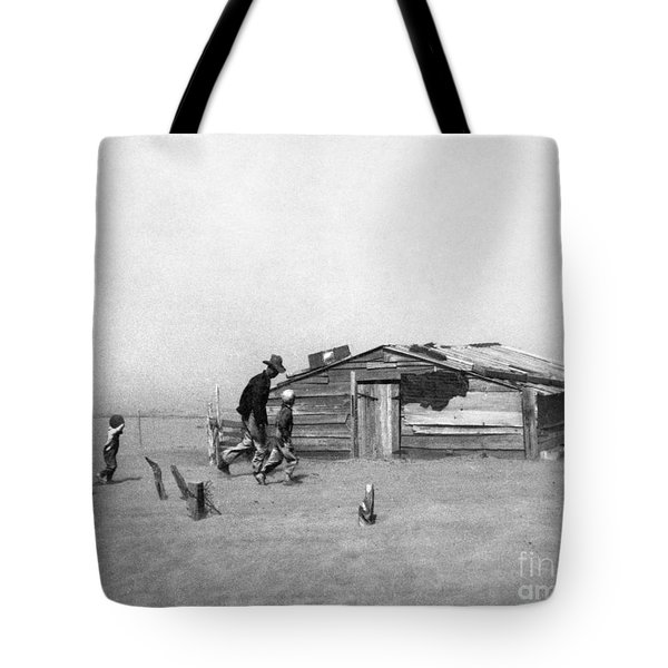 Drought: Dust Storm, 1936 Tote Bag by Granger