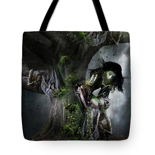 Dryad's Dance Tote Bag by Mary Hood