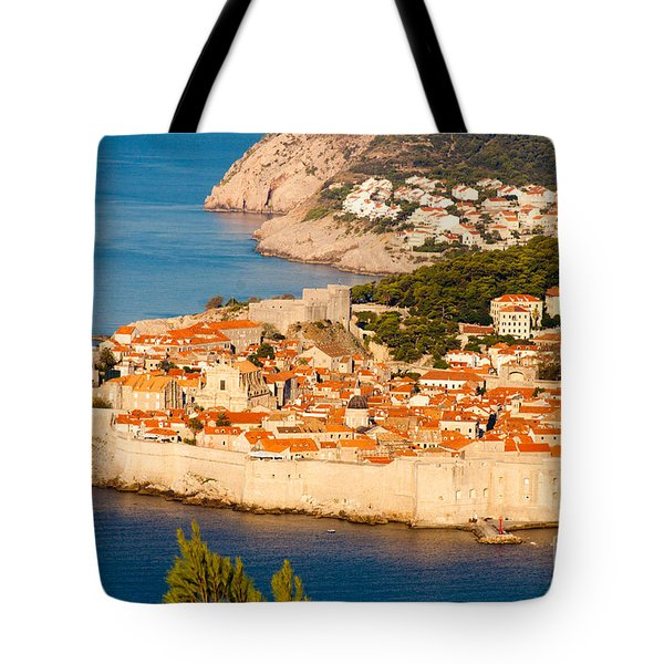 Dubrovnik Old City Tote Bag by Thomas Marchessault