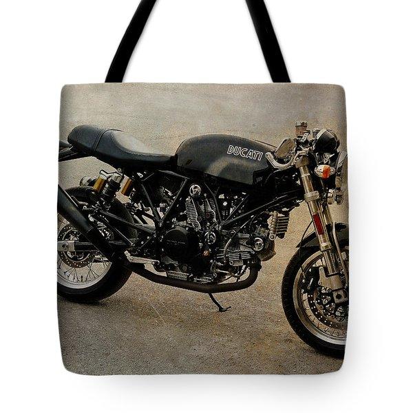 Ducati Tote Bag by Teresa Zieba