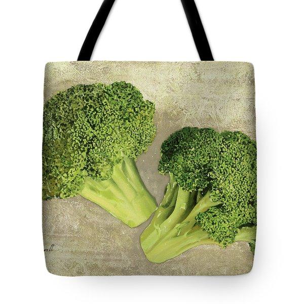 Due Broccoletti Tote Bag by Guido Borelli