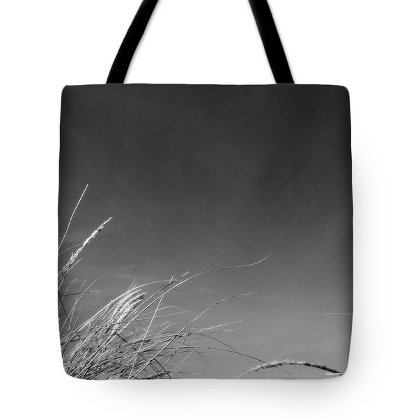 Dune Grass With Sky Tote Bag by Michelle Calkins