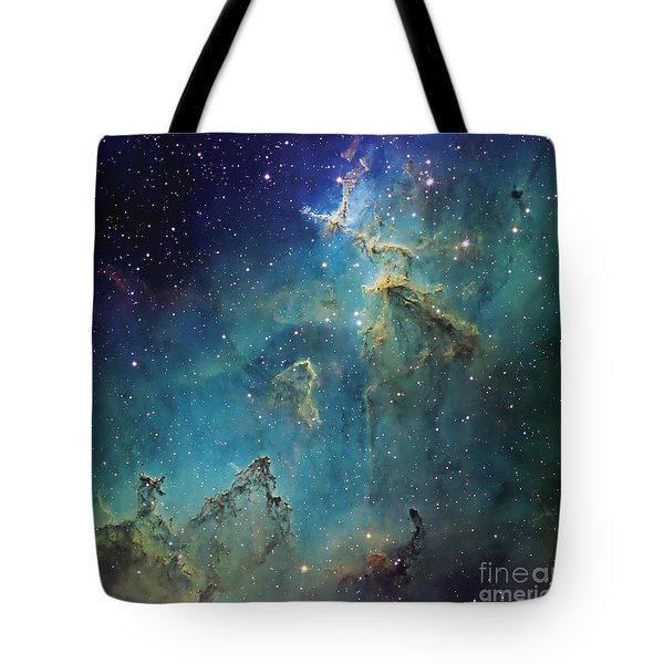 Dust Columns As Part Of The Melotte 15 Tote Bag by Don Goldman