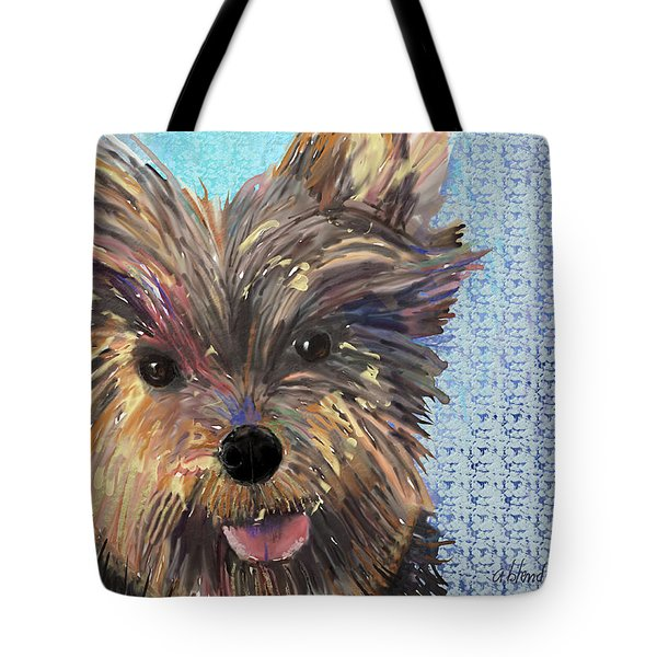 Dusty Tote Bag by Arline Wagner