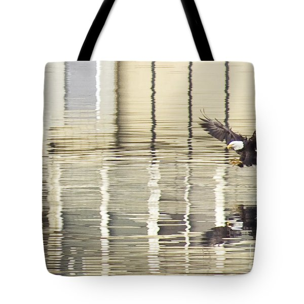 Eagle Abstract Tote Bag by Idaho Scenic Images Linda Lantzy