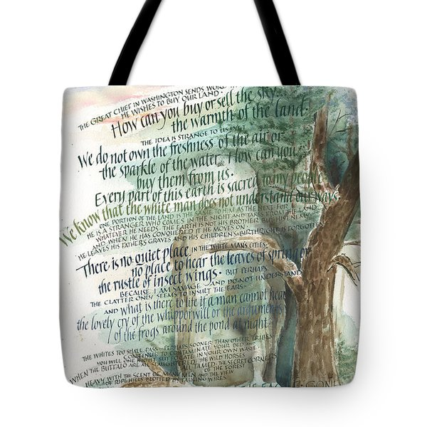 Eagle Gone Tote Bag by Judy Dodds