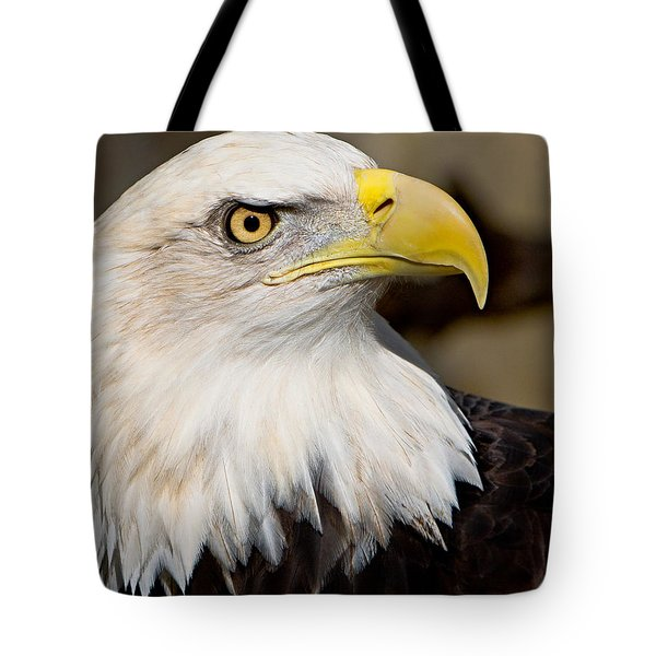 Eagle Power Tote Bag by William Jobes