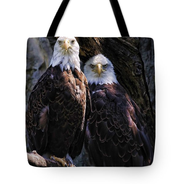 Eagles Tote Bag by Edward Sobuta