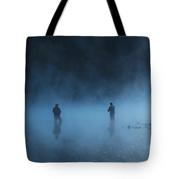 Early Morning Fishing Tote Bag by Tamyra Ayles