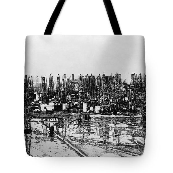 Early Oil Field Tote Bag by Granger