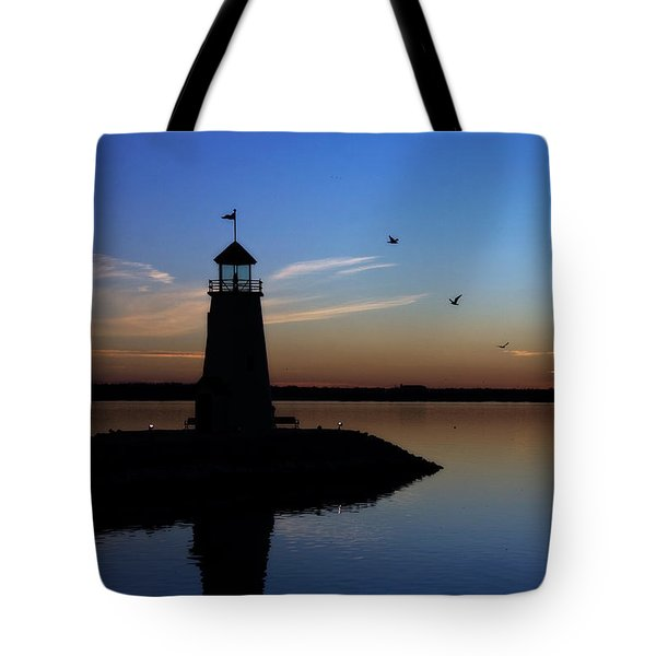 East Warf Sunset Tote Bag by Lana Trussell