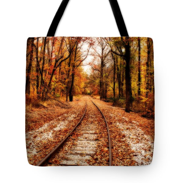 Eastbound Tote Bag by Sandy Keeton
