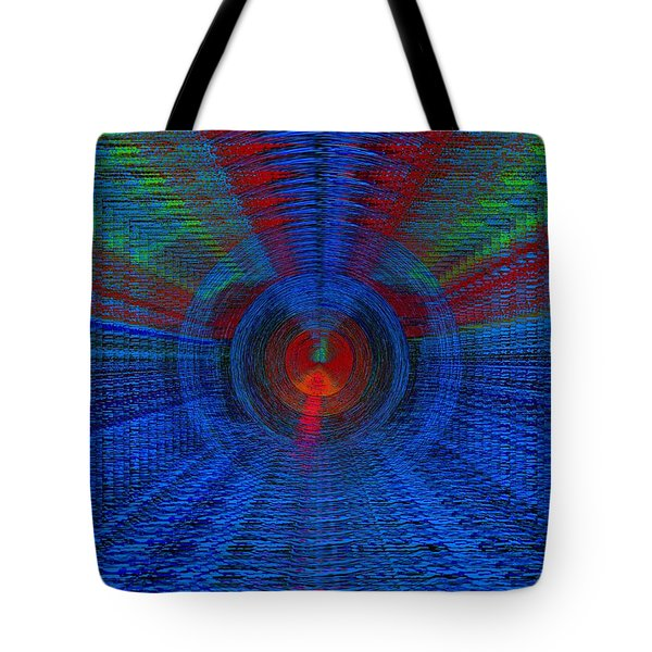 Echo Chamber Tote Bag by Tim Allen