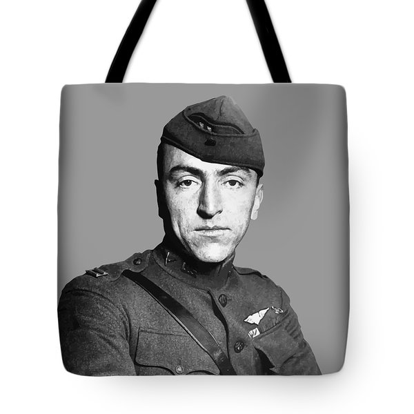 Eddie Rickenbacker Tote Bag by War Is Hell Store