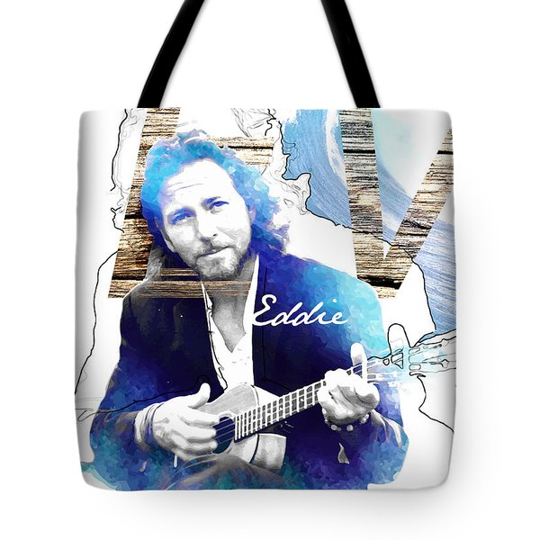 Eddie Tote Bag by Wagner Povoa