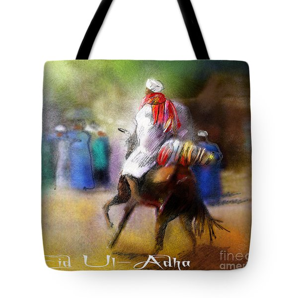 Eid Ul Adha Festivities Tote Bag by Miki De Goodaboom