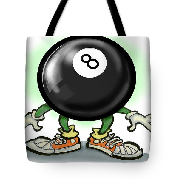 Eightball Tote Bag by Kevin Middleton
