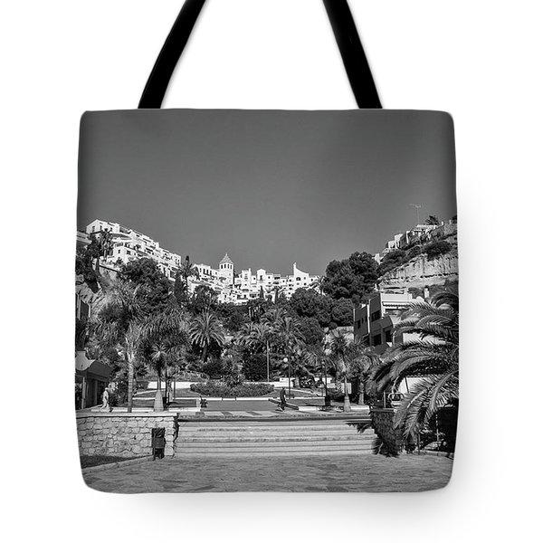 El Capistrano, Nerja Tote Bag by John Edwards