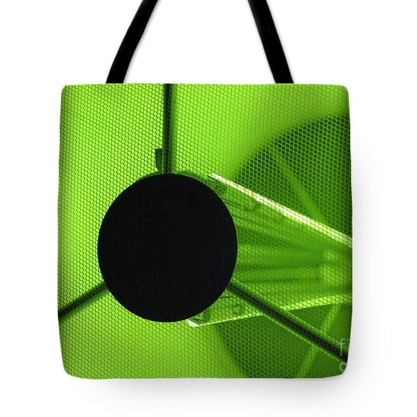 Electromagnetic Radiation Tote Bag by Charles Dobbs